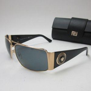 Versace 2163 100281 MEDUSA Sunglasses Italy/OLI837
